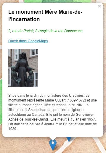 Présence autochtone II (HTML+CSS)